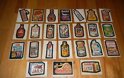 1973-75 Topps Wacky Packages Complete Wonder Bread Series 1, 2 & 3 72/72 NM-