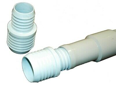 "Carpet Cleaning - Barb 2"" to 1.5"" Hose Reducer / PVC"