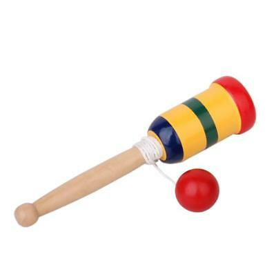 Kendama Cup and Ball Game Traditional Japanese Wooden Wood Educational Toy
