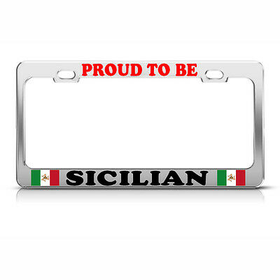 PROUD PUERTO RICO PALM TREE License Plate Frame PUERTO RICAN FLAG PRIDE Tag