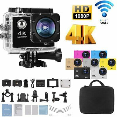 4K FHD WiFi Sport Aktion kamera Cam DV Digital Camcorder 30 fps 16MP wasserdicht