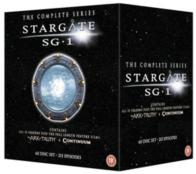 Stargate SG1: Seasons 1-10/The Ark of Truth/Continuum DVD (2012) Richard Dean