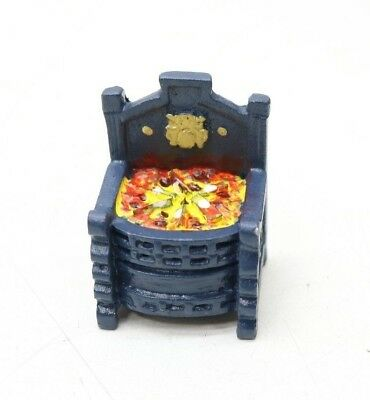 NEW Dolls House Metal Fire Place / Grate - 1/12th Scale - Free Delivery