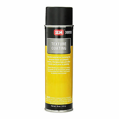 Sem Products Texture Coating, Aerosol Can Ready To Spray SEM39853 New