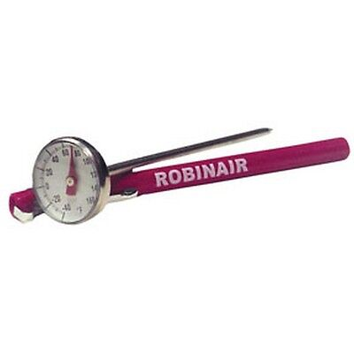 Robinair 1-3/4In Face Dial Thermometer Rob10945 New