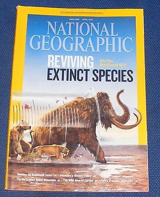 National Geographic Magazine April 2013 - Reviving Extinct Species