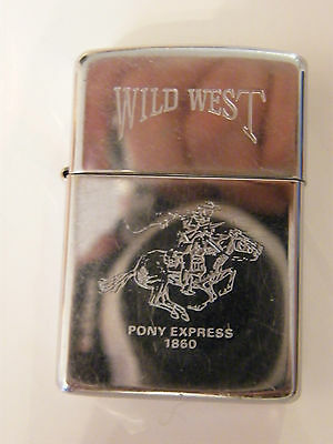 Briquet Zippo Wild West Pony Express 1860 Collector