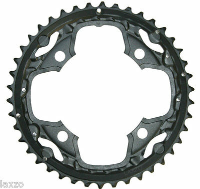 Shimano SLX FC-M660-10 Speed Chainring Black 42T /104 mm for Triple Cranksets