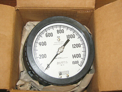 "Weksler 1500 PSI Pressure Gauge with 3/4"" Connection"