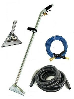 "Carpet Cleaning - Wand 12"" 2-jets 25' Vac / Solu Hoses COMBO"