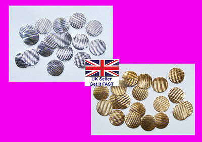 SALE Hotfix Laser Cut Nailheads 10mm - 2 Colours (WG008) FREE POSTAGE