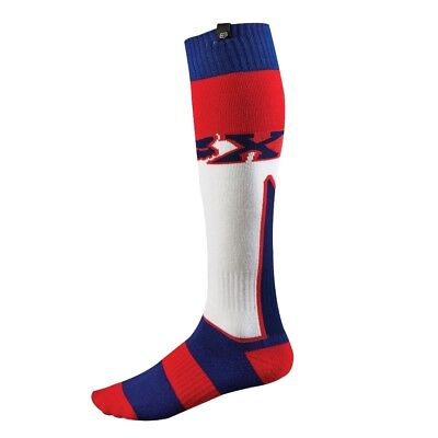 FOX Thick Imperial Socks white/red/blue