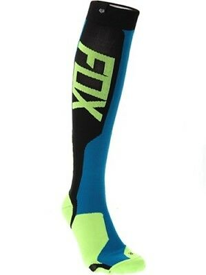 FOX MX Tech Socks blue/yellow