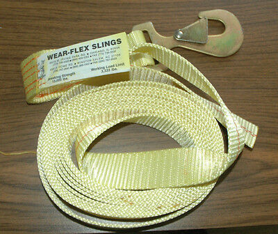 "WEAR-FLEX SLING 2"" x 20' 10000 LBS PART NUMBER 12273481"