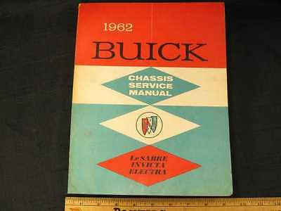1962 Buick Models 4400 to 4800 Chassis Shop Manual