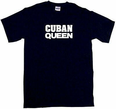 Cuban Queen Kids Tee Shirt Boys Girls Unisex 2T-XL
