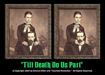 Till Death Do Us Part 5x7 Haunted Memories Changing Portrait Lenticular
