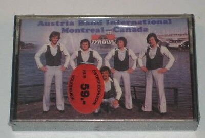 MC/SEALED/AUSTRIA BAND INTERNATIONAL/MONTREAL CANADA/Tyrolis C8