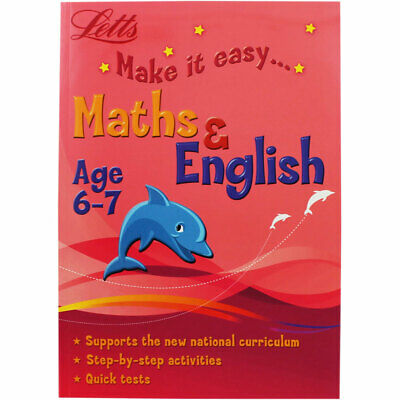Letts Maths and English - Age 6-7 (Paperback), Children's Books, Brand New