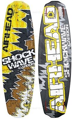 New Airhead Shockwave Carbon Wakeboard Wake Board Ahw-8010