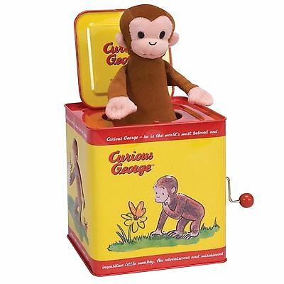 Toy Schylling Jack In The Box Curious George New Gift