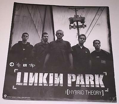 Linkin Park Hybrid Theory 2 Sided Promo Poster Record Store Window Lobby Card