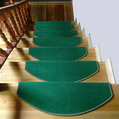 Charmant Morden Step Rugs Solid Color Stair Tread Mats Anti Skid Carpet Home Decor 1  PC