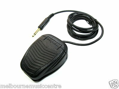 MMC KEYBOARD SUSTAIN PEDAL Heavy Duty 'On/Off' Command Pedal *2m Cable* NEW!