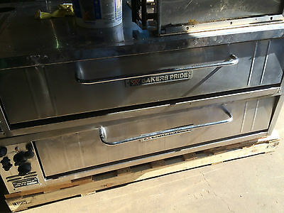 Bakers Pride Electic Pizza Ovens - Double Stacked