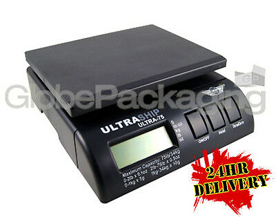 MY WEIGH ULTRASHIP 75 DIGITAL POSTAL SCALES - To 34KG