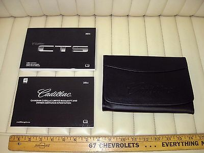 2014 Cadillac New Style CTS Sedan Owners Manual Kit w/ Case Pouch New OEM CDN