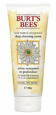 Burts Bees Soap bark & Chamomile Deep Cleansing Cream Face Wash RRP £11.49 *BNWT
