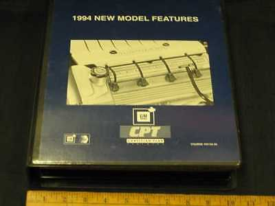 1994 Chevrolet New Model Features GM Training Booklet & VHS Tape