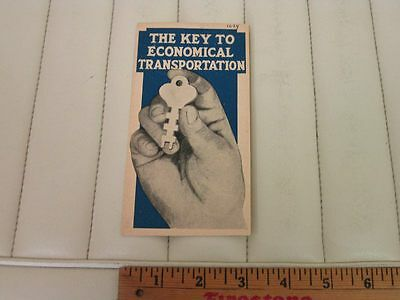 "1924 Chevrolet Car and Truck ""Key to Economical Transportation"" Sales Brochure"