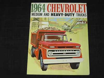 1964 Chevrolet Med/Heavy Duty Trucks Sales Brochure CDN