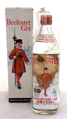 Beefeater Dry Gin NAAFI Stores ca. 40 Jahre alt