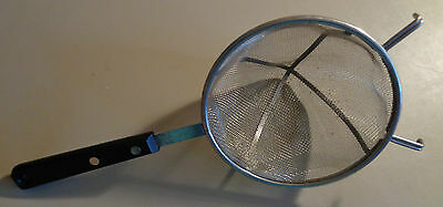 Vintage hand strainer Stainless Steel USA 1950s-60s