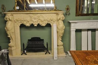 Classic Mable Fireplace Mantel and Surround