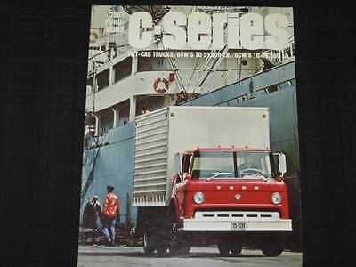 1967 Ford Trucks Tilt-Cab Folder Sales Brochure CDN