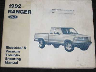 1992 Ford Ranger Electrical Shop Manual