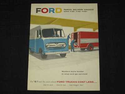 1957 Ford Parcel Delivery Truck Sales Brochure CDN