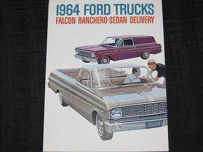 1964 Ford Falcon Ranchero & Delivery Sales Brochure