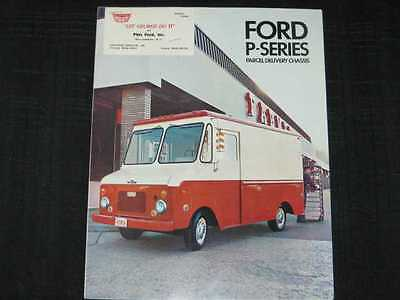 1969 Ford Parcel Delivery Trucks Folder Sales Brochure
