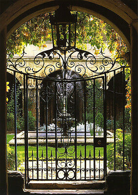 Gorgeous Cast Iron Entry Pedestrian Gate features Excellent Timeless Design