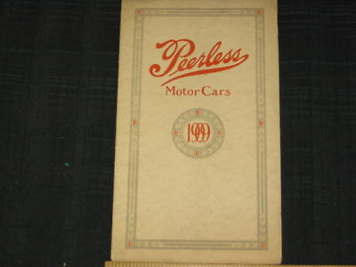 1909 Peerless Single-Six Folder Sales Brochure