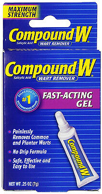 Compound W Wart Remover Maximum Strength Fast Acting Gel 0.25 Oz