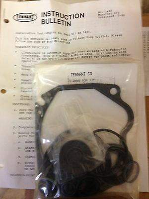 Tennant Seal Kit SK1450 for Vickers Hydraulic Pump 42163-1