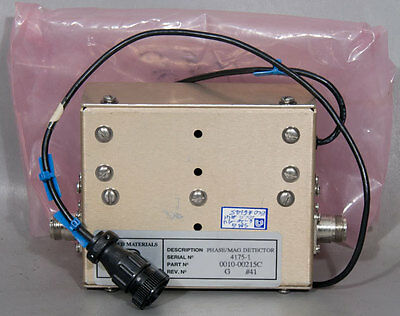 NEW Applied Materials/AMAT PN: 0010-00215 (00215C) Phase/Mag Detector