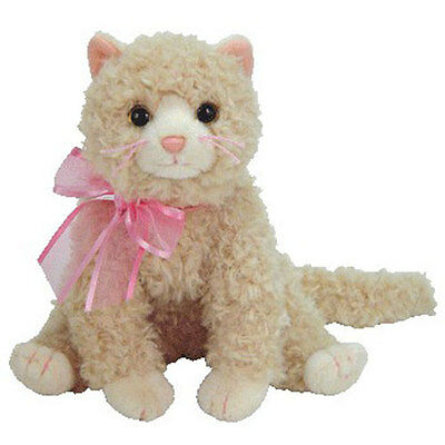 TY Beanie Baby - PLUFF the Cat (6.5 inch) - MWMTs Stuffed Animal Toy