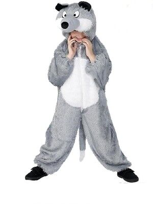 Costume Carnevale Bimbo Lupo wolf party animal smiffys *17549